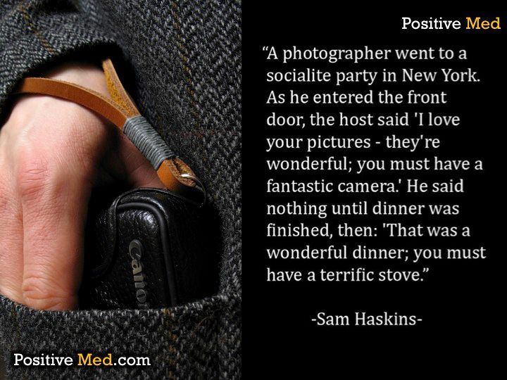 Great photography quote!
