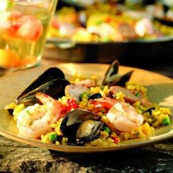Summer Paella - EatingWell.com