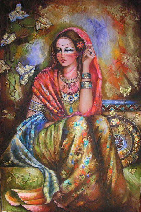 الفنانة التشكيلية لميس الحموي عالم نوح Arabian Art Arabic Art Arab Artists