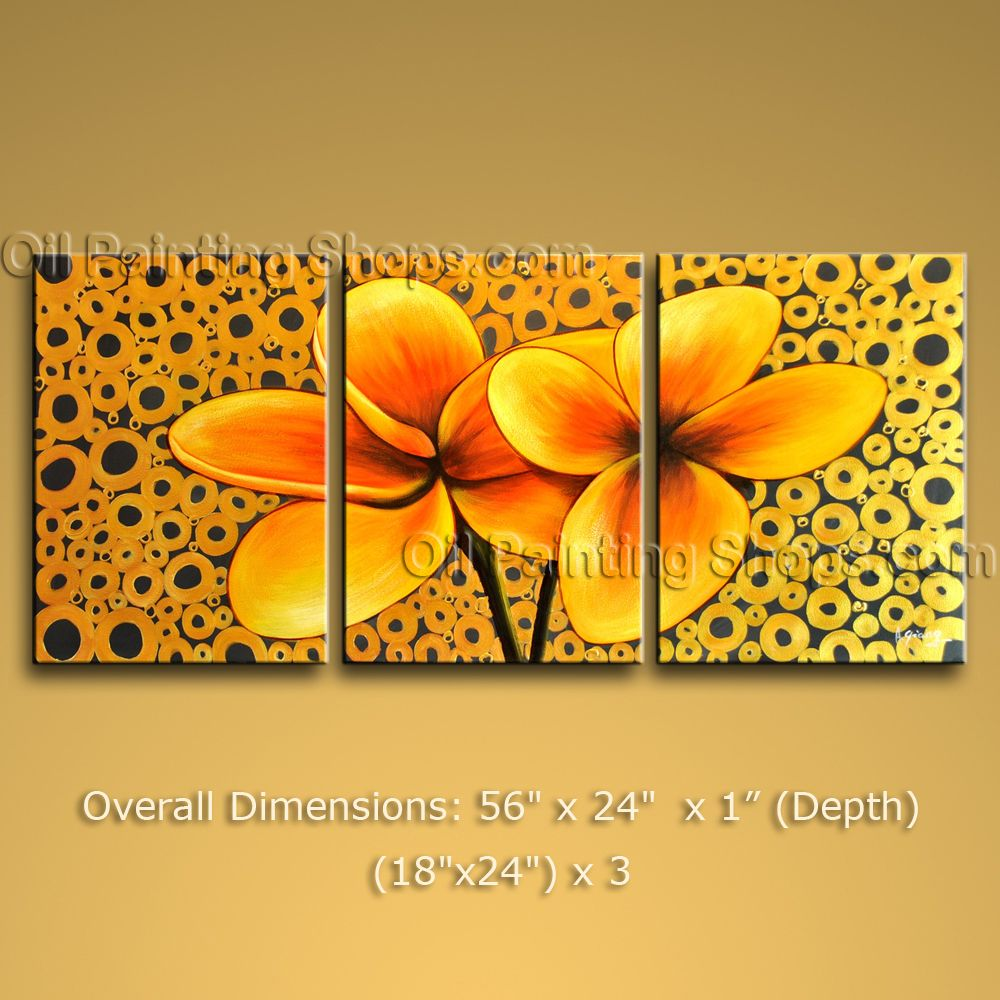 Elegant Contemporary Wall Art Floral Painting Egg Decoration Ideas ...