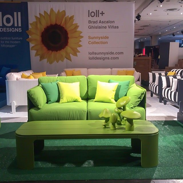 Loll Designs Sunnyside Collection Of Modern Outdoor Furniture As Debuted At  ICFF In New York.