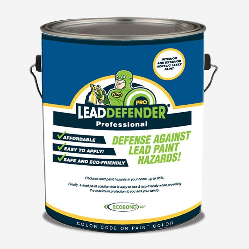 Lead Defender PRO Off White Flat Interior/Exterior Paint And Part 61