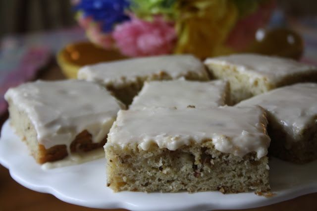 Ultimate Banana Bars with Brown Butter Icing