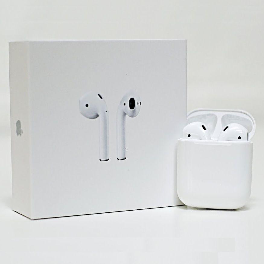 Apple Airpods White Genuine In Ear Wireless Bluetooth Headsets W Case Mmef2am A Apple Bluetooth Headset Case