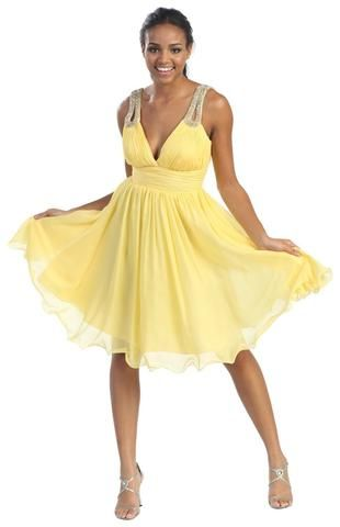Simply Gorgeous Prom Short Dresses Sleeveless Chiffon Ruched V Neck Homecoming