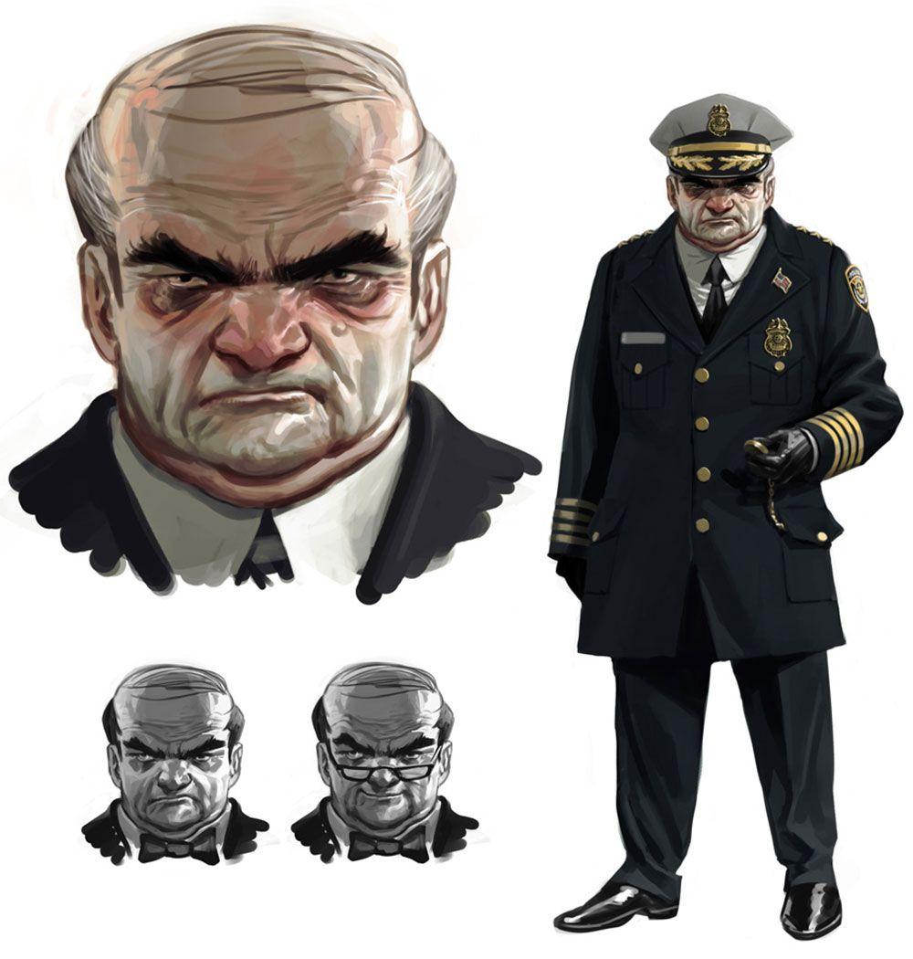 Commissioner Loeb - Characters & Art - Batman: Arkham ...