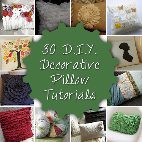 30 DIY Decorative Pillow Tutorials & 30 DIY Decorative Pillow Tutorials | Pillows Tutorials and 30th pillowsntoast.com