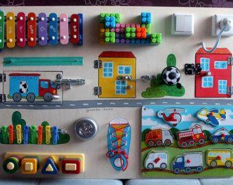 busy board cars activity board sensorische von. Black Bedroom Furniture Sets. Home Design Ideas