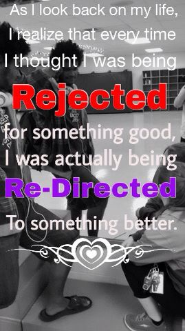 Re-directed not Rejected
