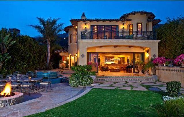 Platinum Capital Realty Blog Malibu Homes Celebrity Houses Spanish Style