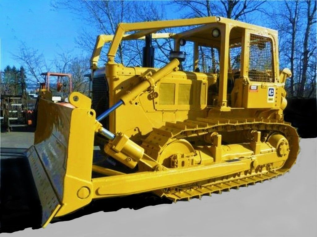 1974, CATERPILLAR  D6C, Dozer  | Yellow iron | Caterpillar bulldozer