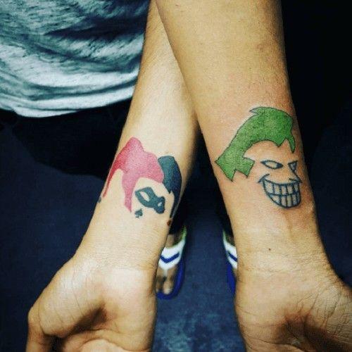 Imagenes De Harley Quinn And Joker Small Tattoos