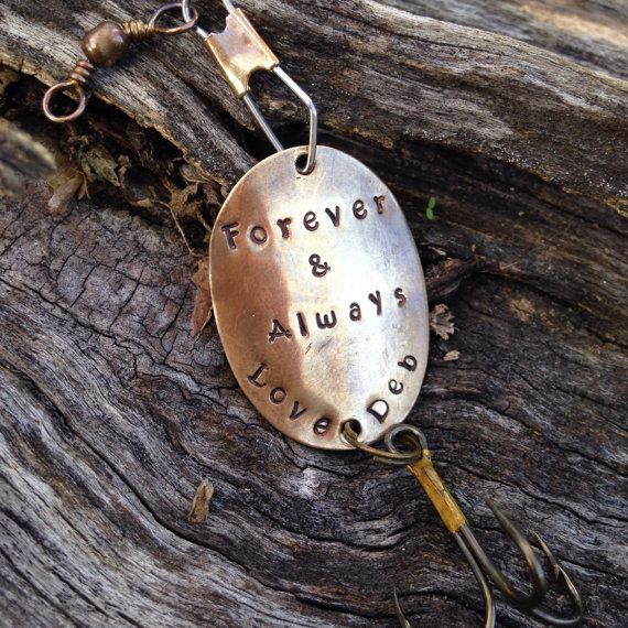 Personalized Fishing Lure for Dad Papa Husband by FishWithHope