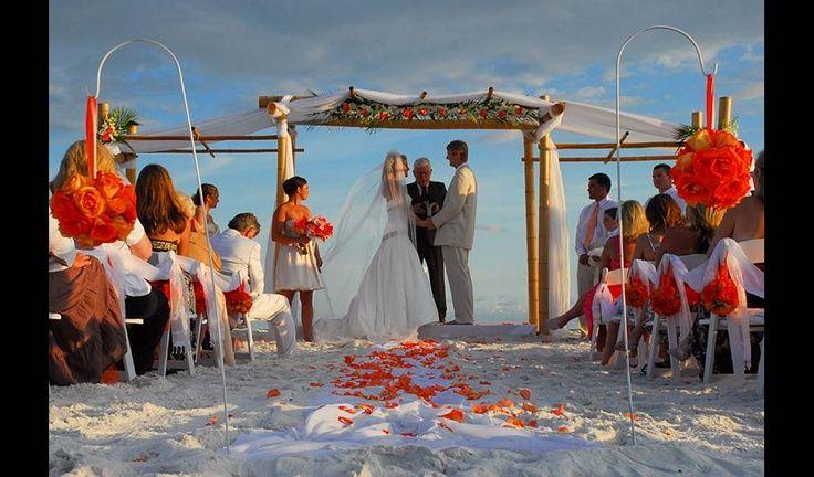 Beach Wedding Arbor | Beach Wedding Arbors