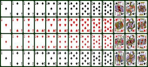 how to read a deck of playing cards