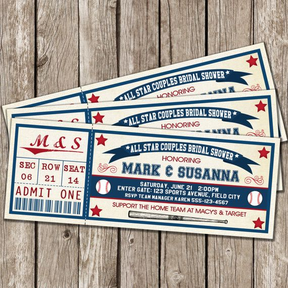 vintage baseball invitation baseball bridal by littlemsshutterbug baseball wedding shower wedding shower games baseball