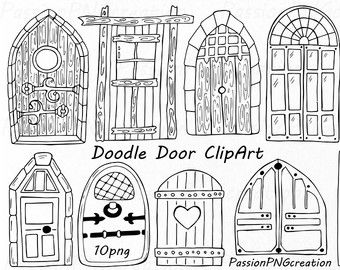 Hand Drawn Doodle Dandelions Clipart Flower Silhouettes Etsy How To Draw Hands Clip Art Art