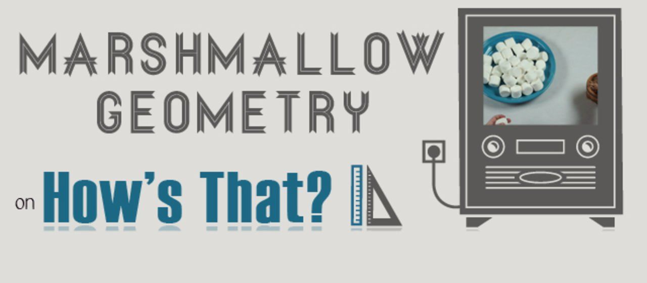 How's That - Marshmallow Geometry  #math #homeschool #shem