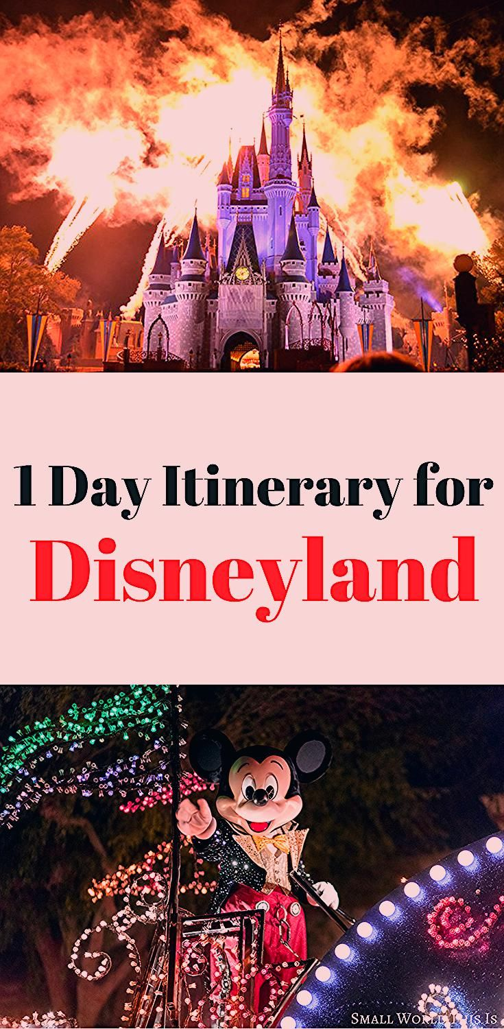 A One Day Disneyland Itinerary - Small World This Is