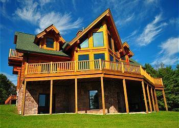 Log Mahal 1314 73277 Taylor Made Deep Creek Vacations Sales Deep Creek Lake Lake Real Estate Log Homes