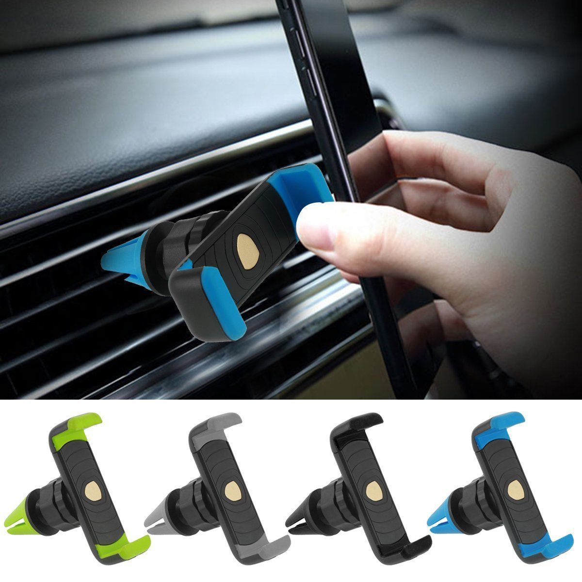 Universal 360°Rotation Car Air Vent Mount Cradle Holder