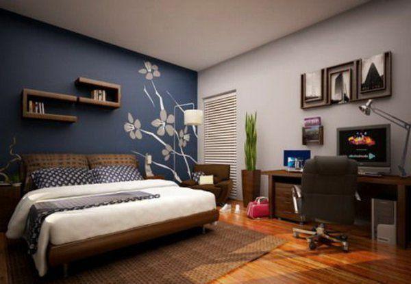 Schlafzimmerwand Gestalten   Interessante Ideen Zum Nachfolgen · Home  Office DecorBedroom ...