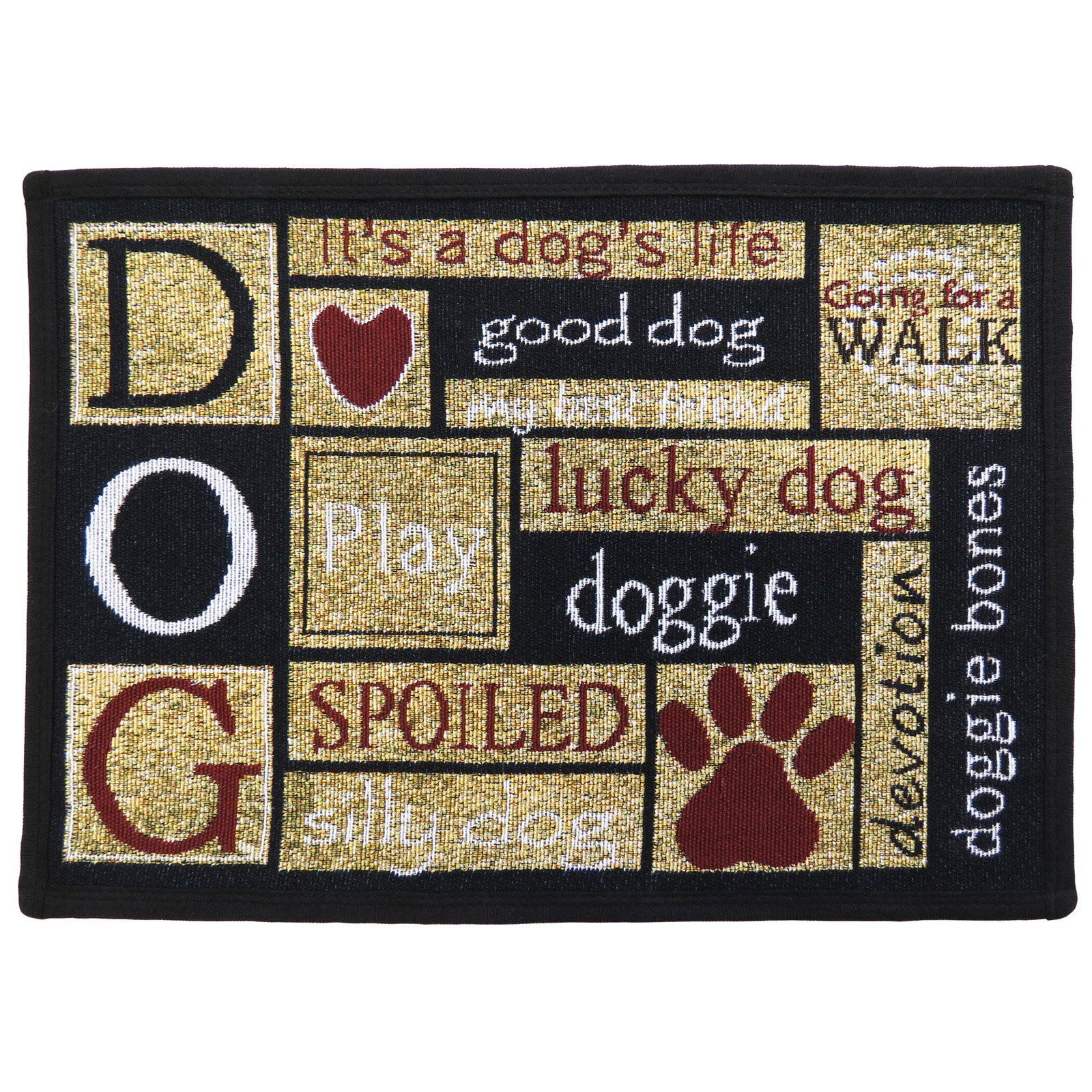 Park B Smith I Love Dogs Pet Mat Ildo17 Sdc Pet Mat