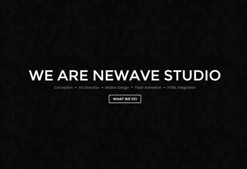 Newave Is Premium Responsive One Page Html Portfolio Template