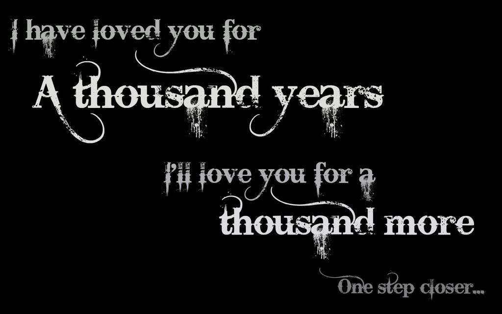 A Thousand Years Christina Perri Wallpaper By Lolacool98