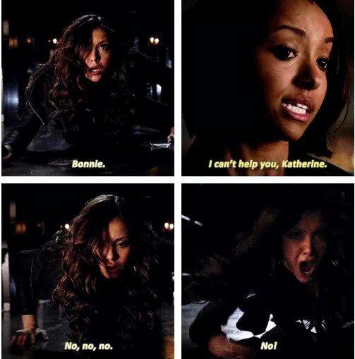 Katherine got wat she deserved so karma