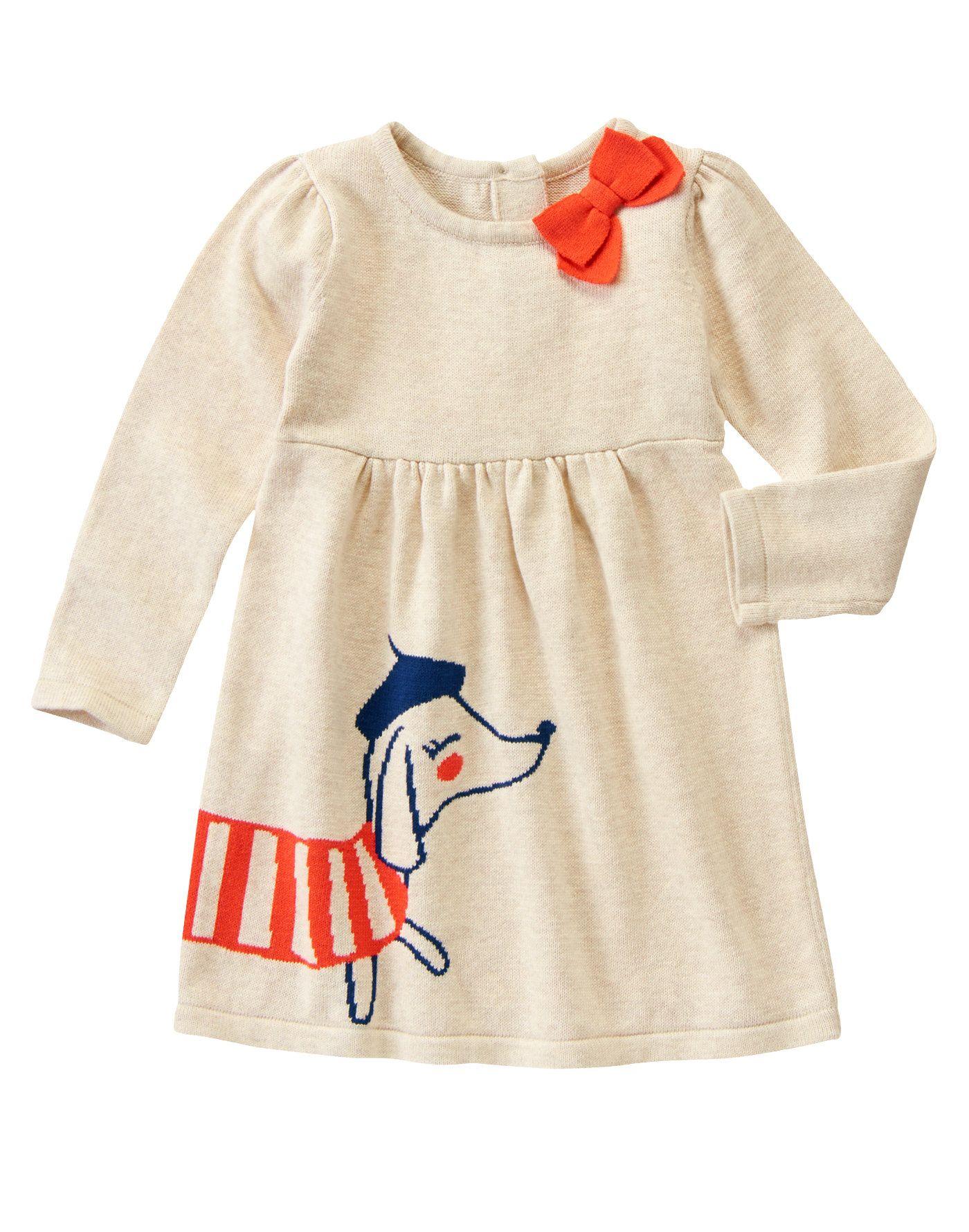 08527cc2fc0 Parisian Pup Sweater Dress at Gymboree (Gymboree 3m-5T)