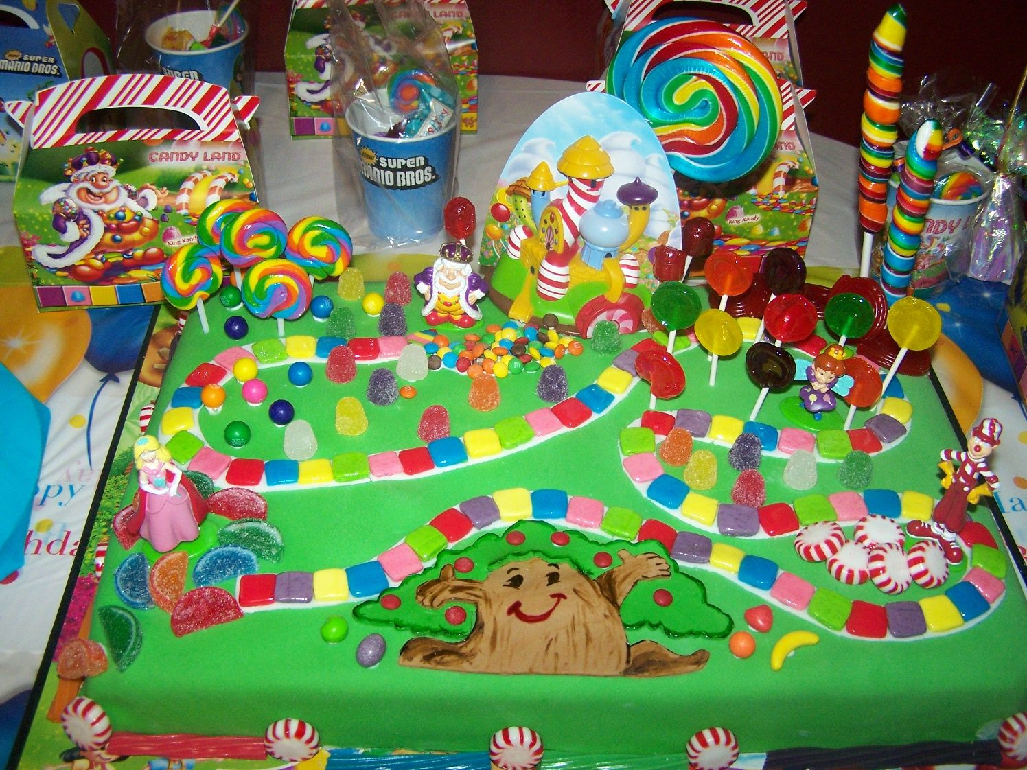 Candyland Candy land birthday party, Candyland birthday