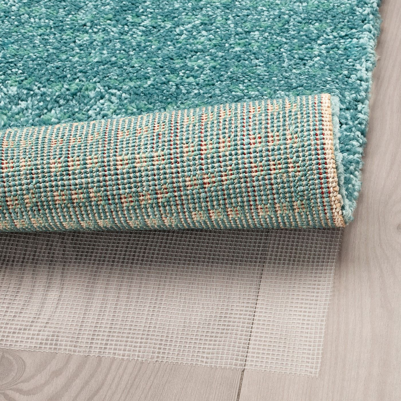 Langsted Rug Low Pile Turquoise 4 4