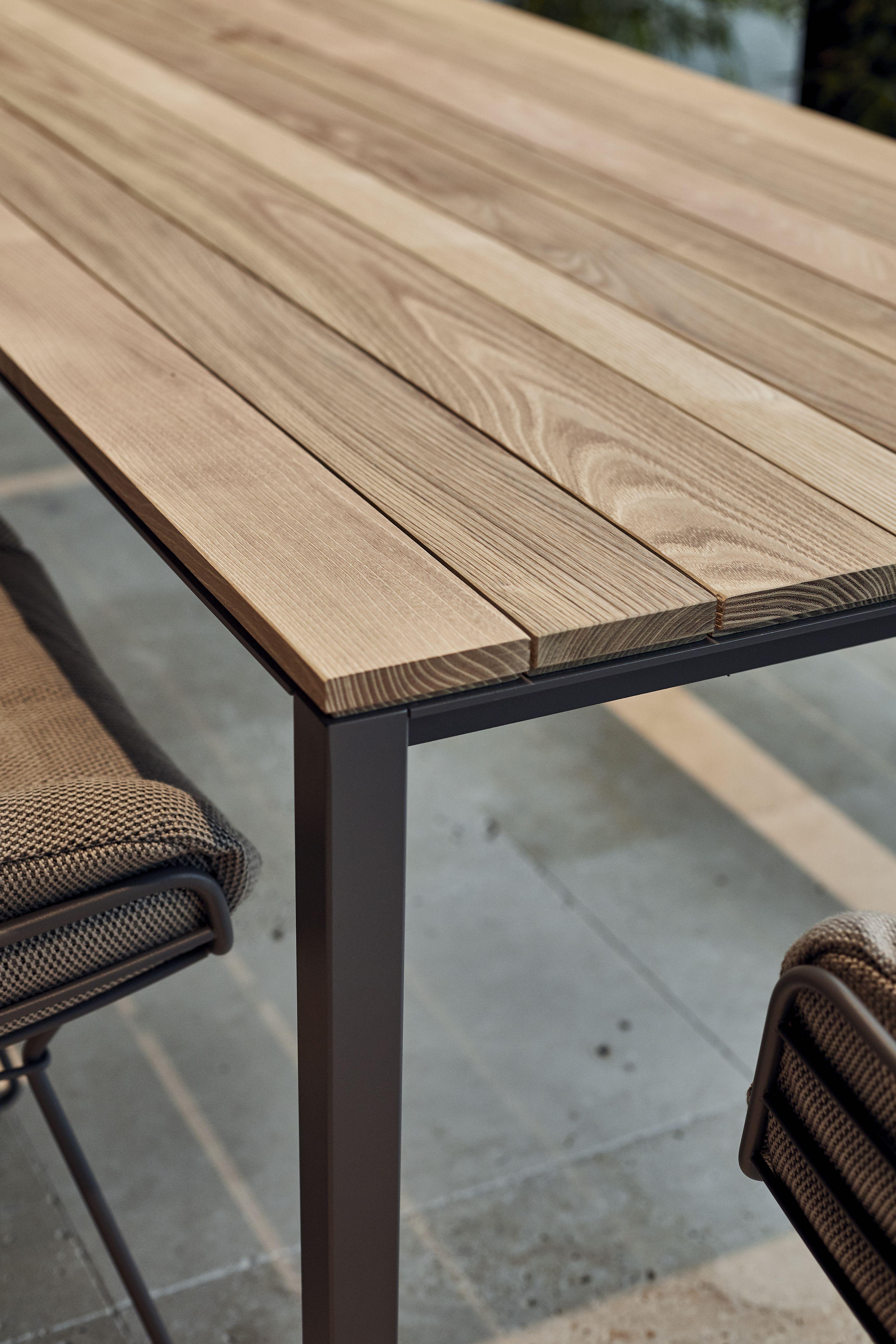 S 600 Tisch Outdoor Holztisch Garten Metallmobel Mobel Bauen