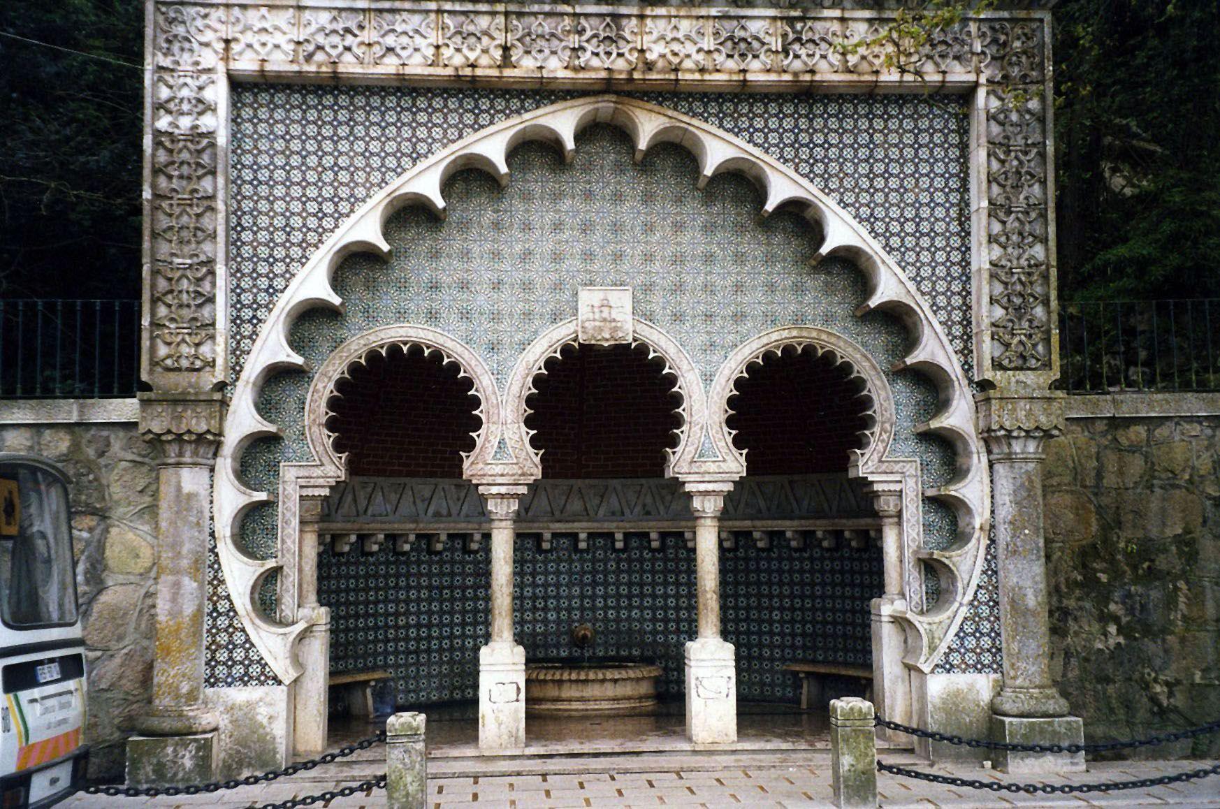 правда, фото арочных восточной архитектуры ворот тихим