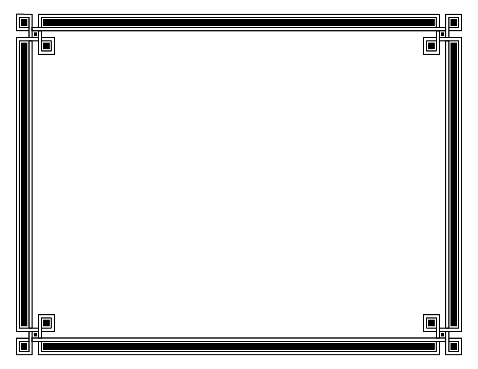 Certificate Borders And Frames Templates Amtframe