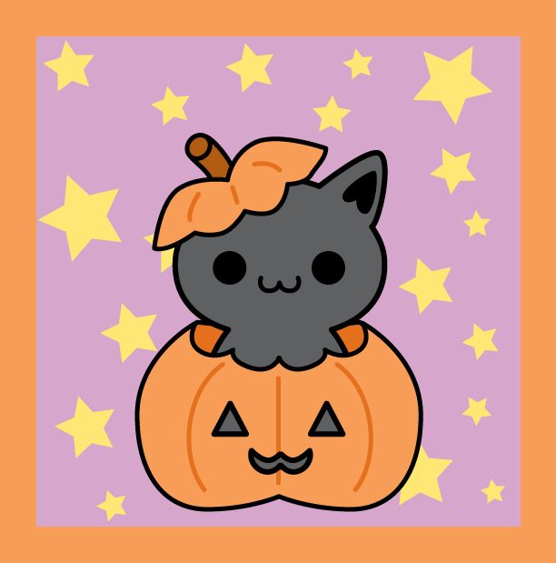 Halloween Kitty by Strange-1.deviantart.com on @deviantART | Cute ...