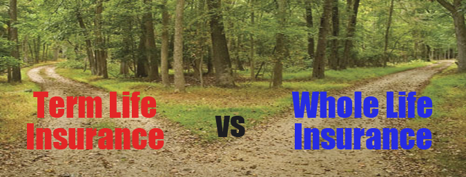 Term Life vs. Whole Life Insurance Whole life insurance