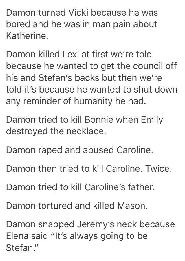 Anti Damon Salvatore