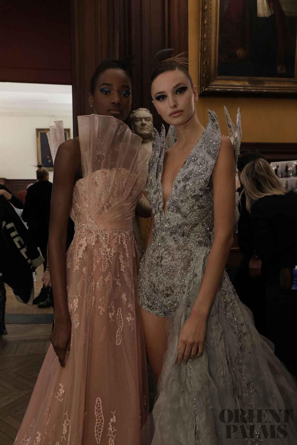 tony ward backstage fs 2019  couture  haute couture