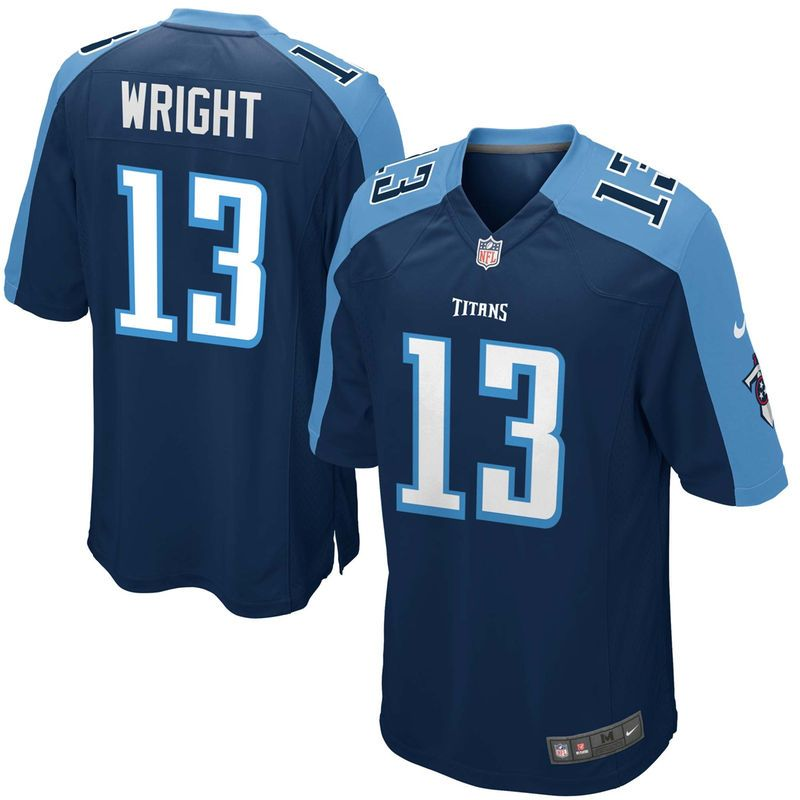 Kendall Wright Tennessee Titans Nike Youth Alternate Game Jersey ...