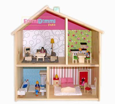 Ikea Flisat Puppenhaus & Playmobil  Puppenhaus