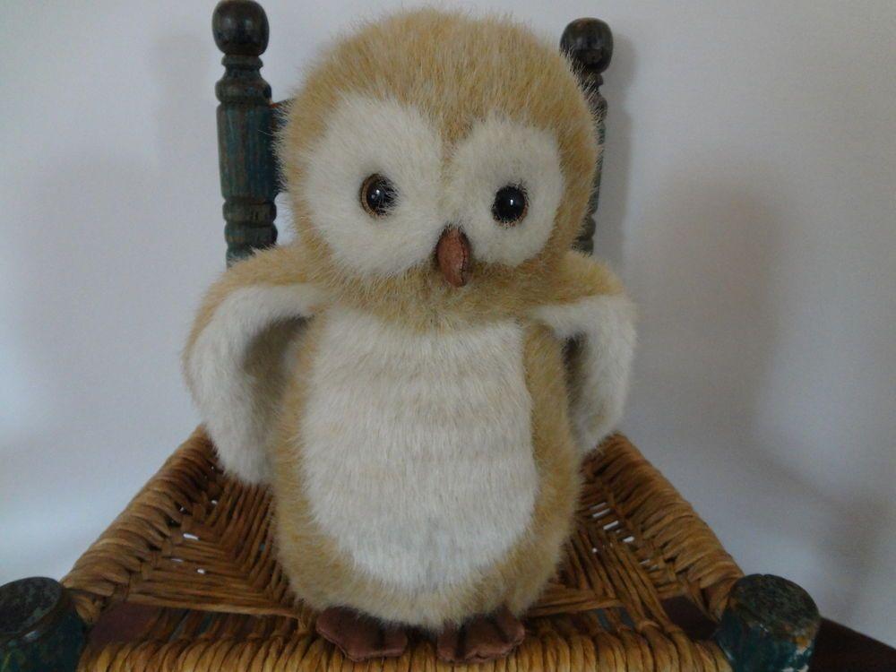 "Boyds Bears MR MCHOOTLE owl stuffed animal plush 10"""