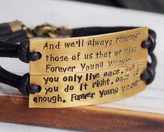 6d04ba5ec63c7 Custom quote bracelet, quote bracelet couples, quote matching ...