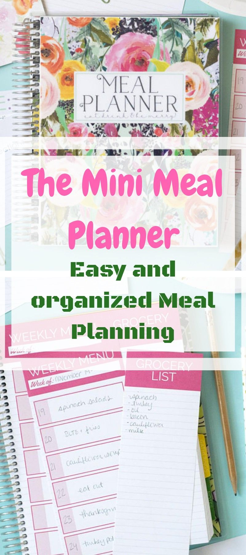 Meal Planner Mini A Fun And Easy Way To Meal Plan For My Family