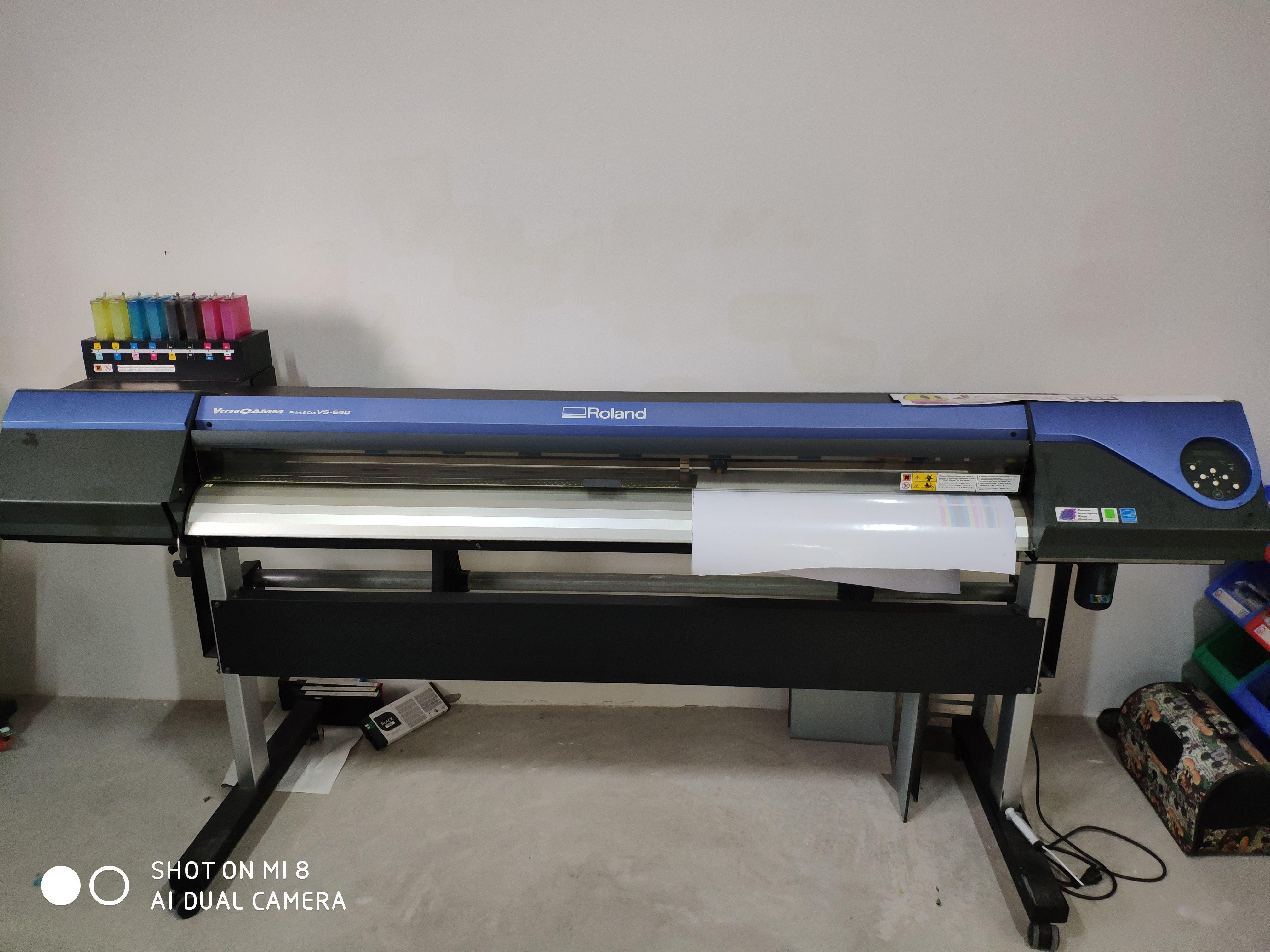 Roland VS-640i Inkjet Printers/Cutters | Second-hand Inkjet