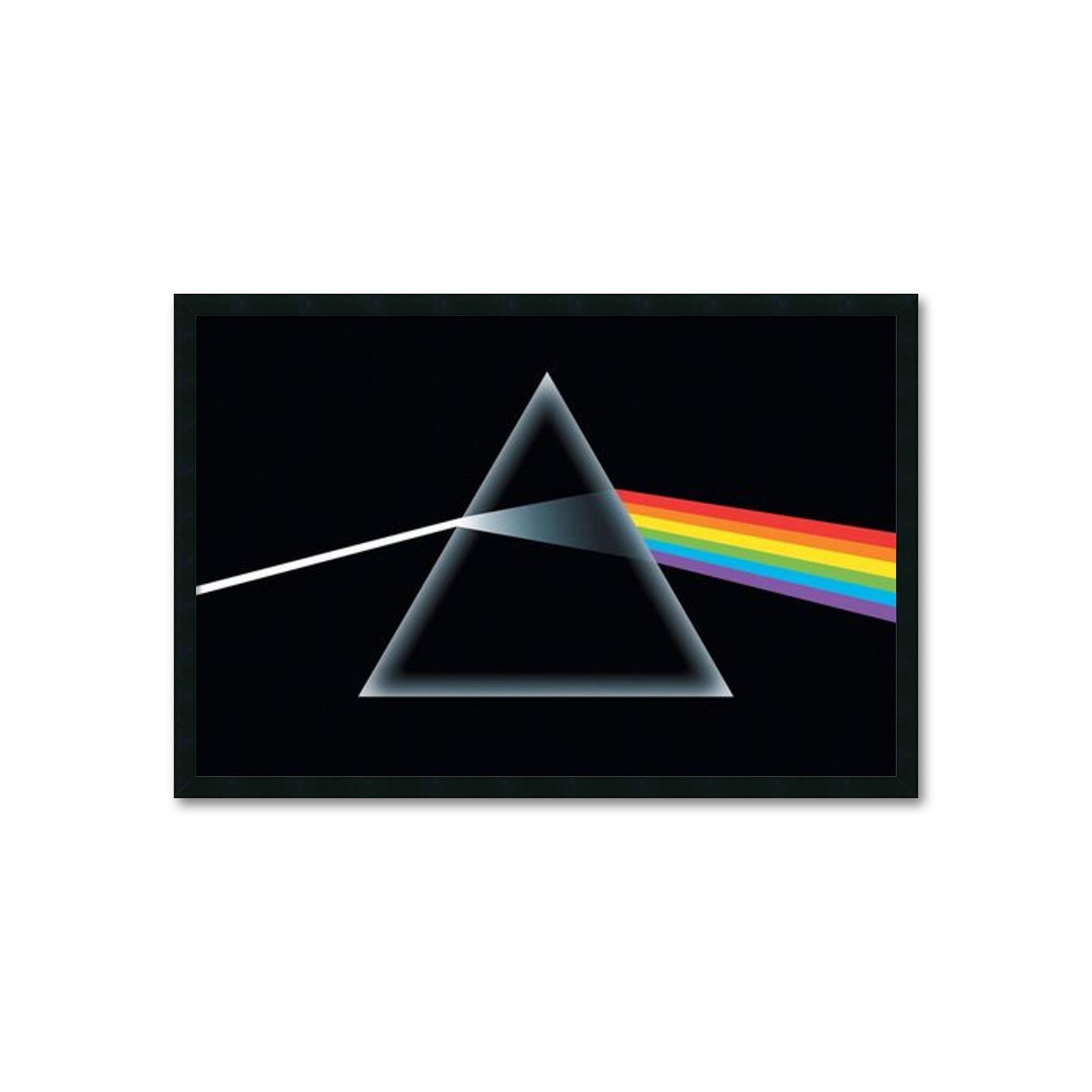 Pink Floyd Dark Side Of The Moon Framed Wall Art Black