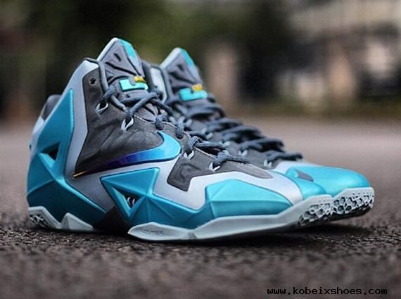 Armory Slate Gamma Blue-Light Armory Blue 616175-401 Nike Lebron 11 ... e8c9ad960