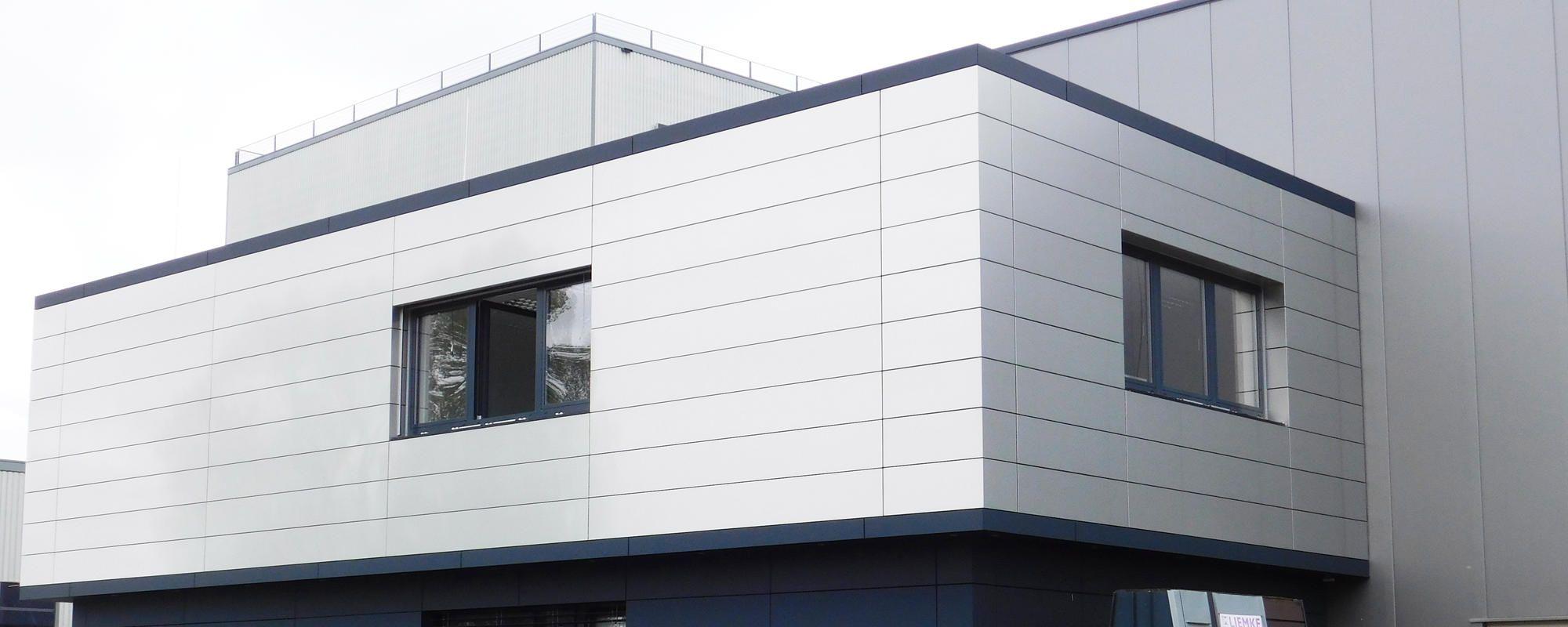 Fassade Verbundplatte Aluminium Haushaut Haus Aluminium
