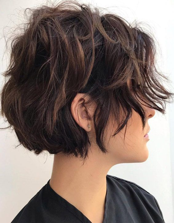 Lovely Chocolaty Short Haircuts you Must Try Now
